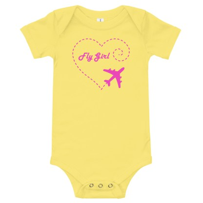 airplaneTees Fly Girl Onesie 1