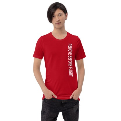 airplaneTees Remove before flight tee... Short-Sleeve Unisex 4