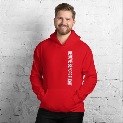 airplaneTees Remove before flight Hoodie - Unisex 10