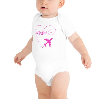 airplaneTees Fly Girl Onesie 2