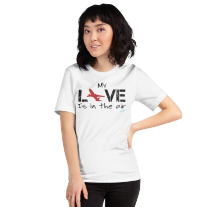 airplaneTees MY Love is in the air tee... Short-Sleeve Unisex 17