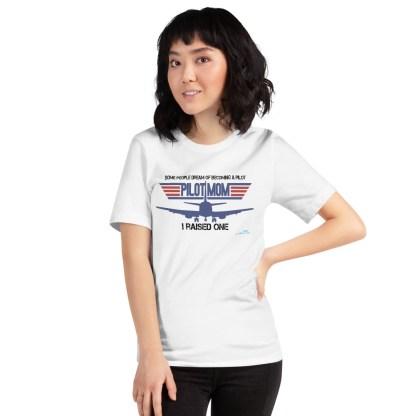 airplaneTees PILOT MOM tee... Short-Sleeve Unisex 9