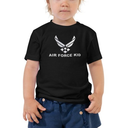 airplaneTees Air Force Kid tee... Toddler Short Sleeve 3