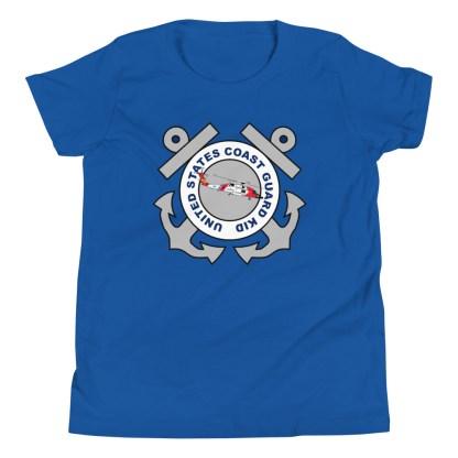 airplaneTees Coast Guard Kid- Back Printed... Youth Short Sleeve T-Shirt 12