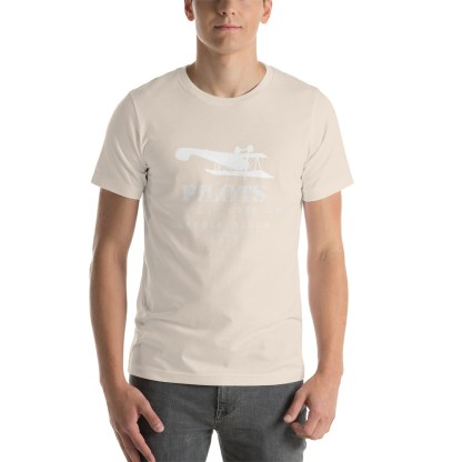 airplaneTees Pilots looking down on people since 1903 tee... Short-Sleeve Unisex 17