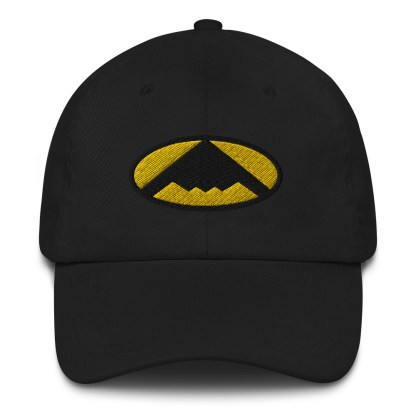 airplaneTees B2 Bomber Dad hat – In the style of Batman 3