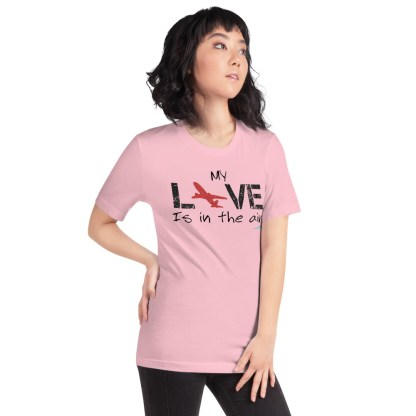 airplaneTees MY Love is in the air tee... Short-Sleeve Unisex 60