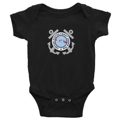 airplaneTees US Coast Guard Kid Onesie... Rabbit Skins Infant Bodysuit 3