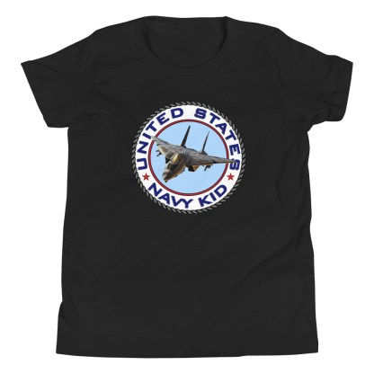 airplaneTees US NAVY KID Tee... Back Printed - Youth Short Sleeve 3