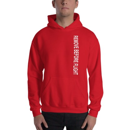 airplaneTees Remove before flight Hoodie - Unisex 2