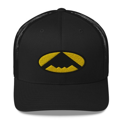 airplaneTees B2 Bomber Trucker Cap – In the style of Batman 4