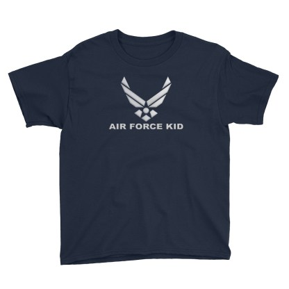 airplaneTees Air Force Kid... Youth Short Sleeve T-Shirt 2