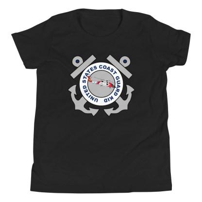 airplaneTees Coast Guard Kid- Back Printed... Youth Short Sleeve T-Shirt 3