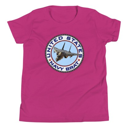 airplaneTees US NAVY BRAT Tee... Youth Short Sleeve 1