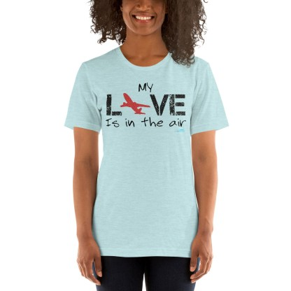airplaneTees MY Love is in the air tee... Short-Sleeve Unisex 6