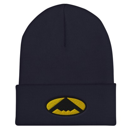 airplaneTees B2 Bomber Cuffed Beanie – In the style of Batman 5