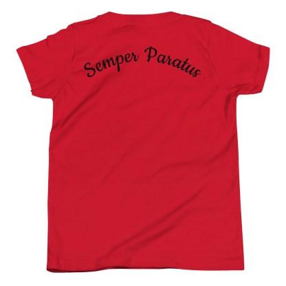 airplaneTees Coast Guard Kid- Back Printed... Youth Short Sleeve T-Shirt 21