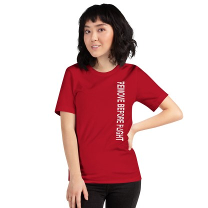 airplaneTees Remove before flight tee... Short-Sleeve Unisex 7