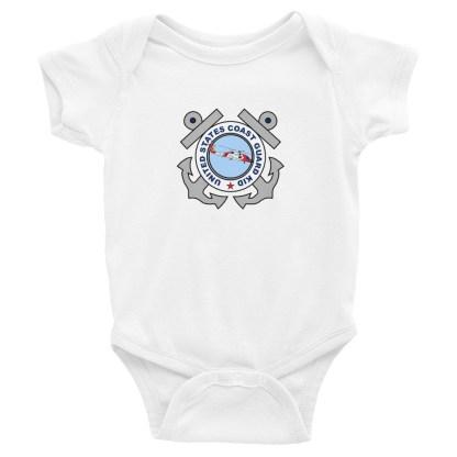 airplaneTees US Coast Guard Kid Onesie... Rabbit Skins Infant Bodysuit 4