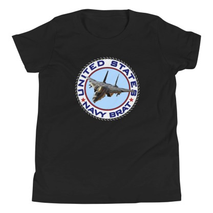 airplaneTees US NAVY BRAT Tee... Youth Short Sleeve 3