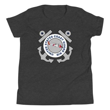 airplaneTees Coast Guard Kid- Back Printed... Youth Short Sleeve T-Shirt 7