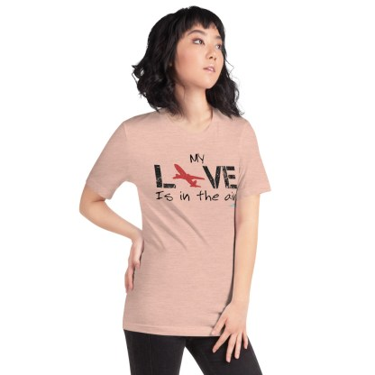 airplaneTees MY Love is in the air tee... Short-Sleeve Unisex 39