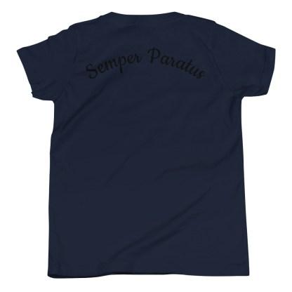 airplaneTees Coast Guard Kid- Back Printed... Youth Short Sleeve T-Shirt 6