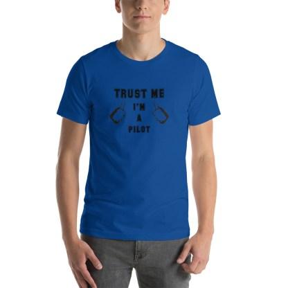 airplaneTees Trust me Im a Pilot tee... Short-Sleeve Unisex 21