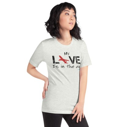 airplaneTees MY Love is in the air tee... Short-Sleeve Unisex 27