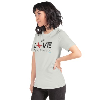 airplaneTees MY Love is in the air tee... Short-Sleeve Unisex 23
