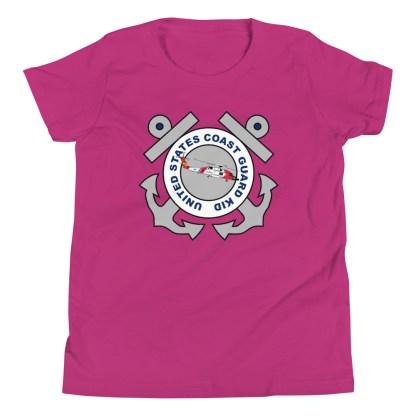 airplaneTees Coast Guard Kid- Back Printed... Youth Short Sleeve T-Shirt 18