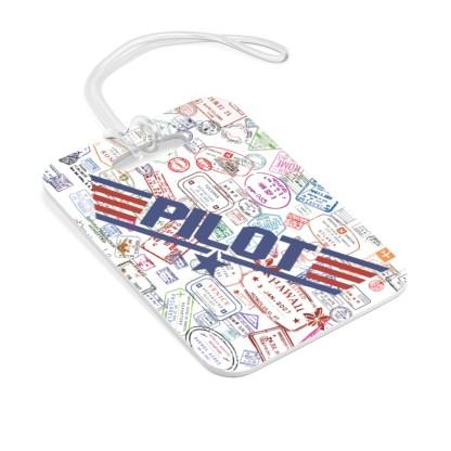 airplaneTees Going Places/PILOT Maverick Bag Tag 2