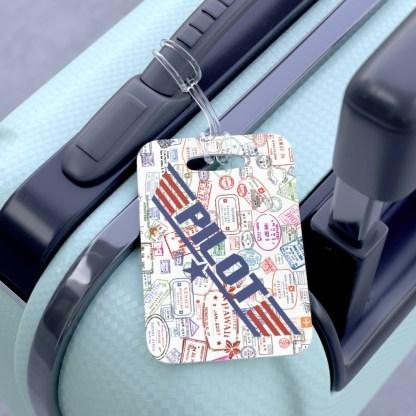 airplaneTees Going Places/PILOT Maverick Bag Tag 3