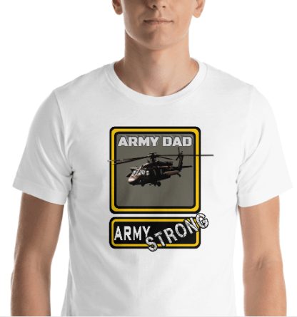airplaneTees PERSONALIZE IT - Army Strong Tee, Army Mom, Dad, Rank, Class you name it. Short-Sleeve Unisex T-Shirt 16