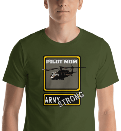 airplaneTees PERSONALIZE IT - Army Strong Tee, Army Mom, Dad, Rank, Class you name it. Short-Sleeve Unisex T-Shirt 20