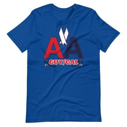 airplaneTees CUSTOM AA Tee, American Guy/Gal Tee Short-Sleeve Unisex 1