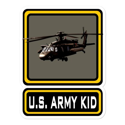 airplaneTees US Army Kid Stickers... Bubble-free 1