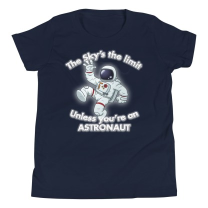 airplaneTees The Sky's the limit tee youth - Option 1... Youth Short Sleeve T-Shirt 4