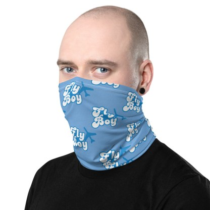 airplaneTees Fly Boy Face Mask/Face Covering/Neck Gaiter 3