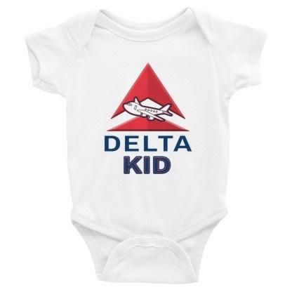 airplaneTees Delta Kid Onesie... Rabbit Skins... Infant Bodysuit 4