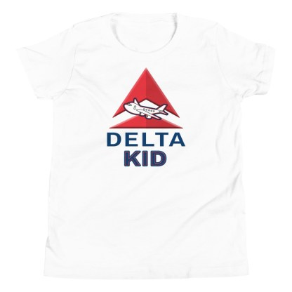 airplaneTees Delta Kid Youth Tee... Short Sleeve 6