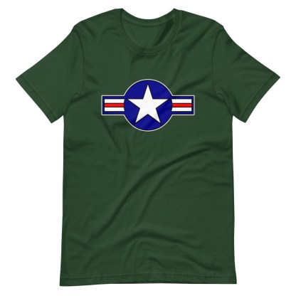 airplaneTees Roundel US Armed Forces Tee... Short-Sleeve Unisex 1