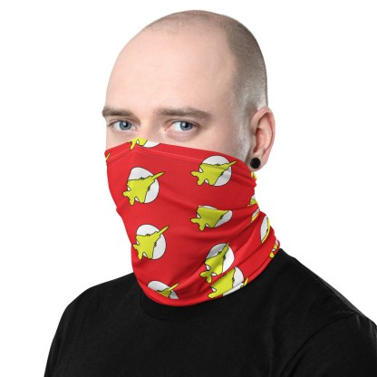 airplaneTees Fighter Flash Face Covering/Neck Gaiter 3