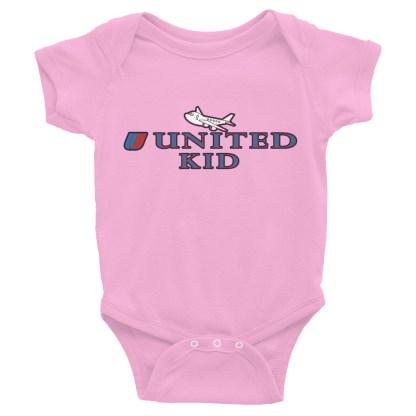 airplaneTees United Kid Onesie... Rabbit Skins... Infant Bodysuit 5