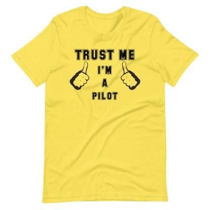 airplaneTees Trust me Im a pilot tee... Short-Sleeve Unisex 1