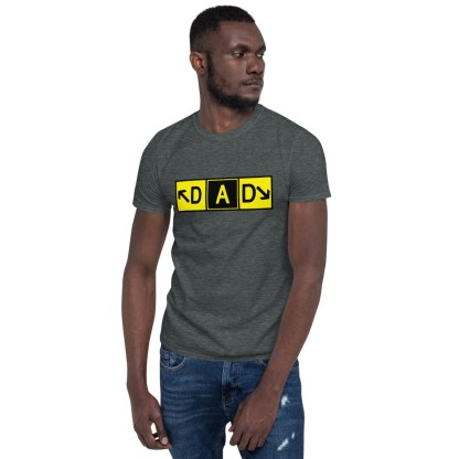 airplaneTees DAD Taxiway Art Tee... Short-Sleeve Unisex T-Shirt 3
