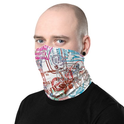 airplaneTees Going Places Face Mask/Face Covering/Neck Gaiter 1