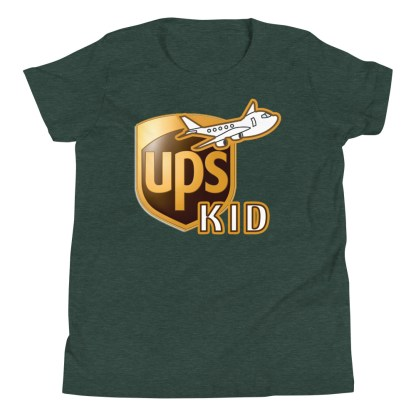 airplaneTees UPS Kid Youth Tee... Short Sleeve T-Shirt 4