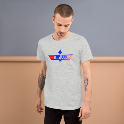 airplaneTees Top Dog tee... Short-Sleeve Unisex 5