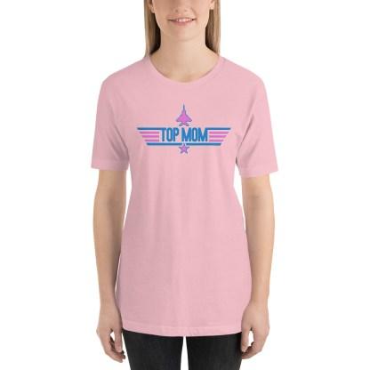 airplaneTees Top Mom tee in Pink... Short-Sleeve Unisex 3
